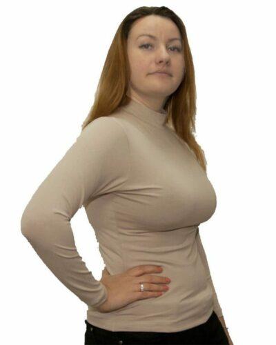 Дамско полуполо с дълъг ръкав в различни цветове