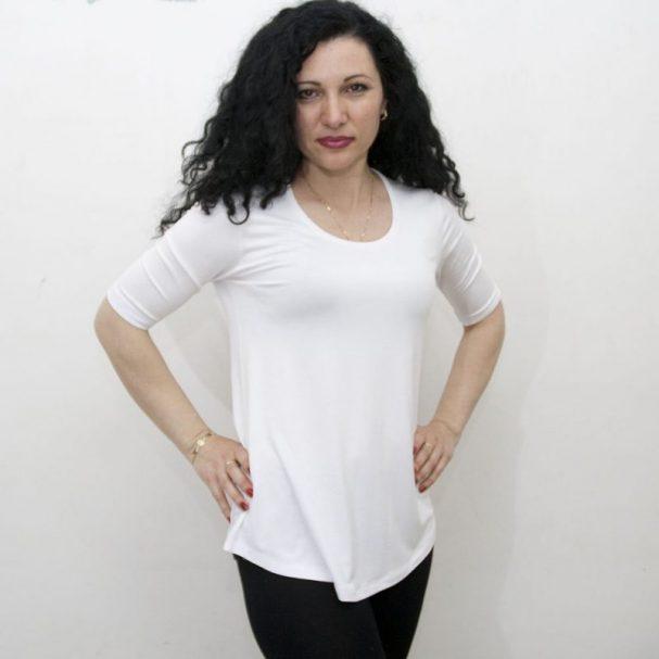 Туника Ла Синьора,бяла