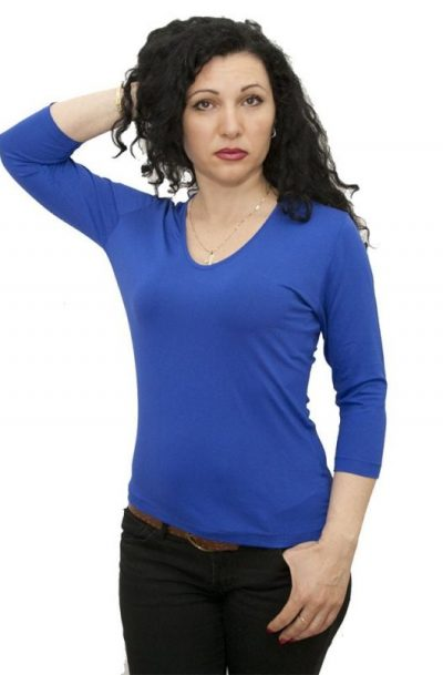 Едноцветни блузи   lasiniora.com