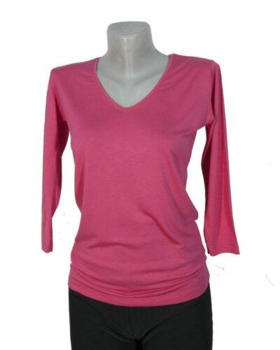 Блуза със 7/8 ръкав цикланем цвят