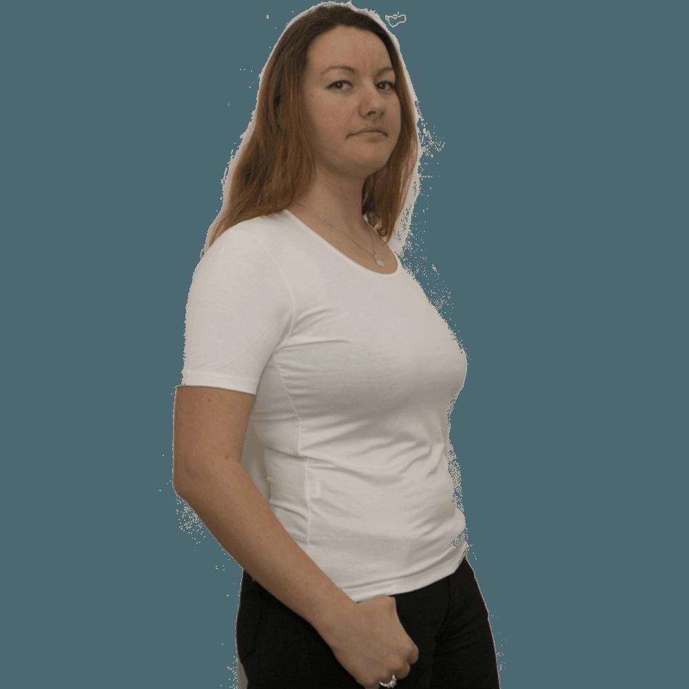 Дамска блуза, бяла