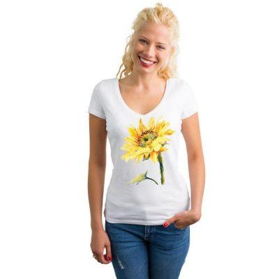 Блуза със слънчоглед
