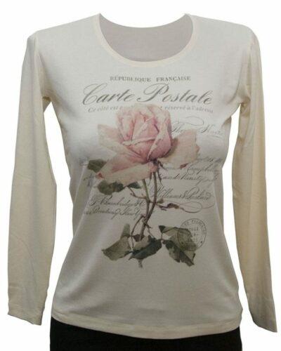 Блуза Роза крем