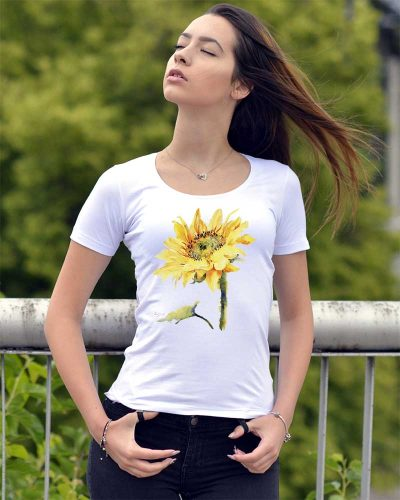 Блуза с рисунка слънчоглед