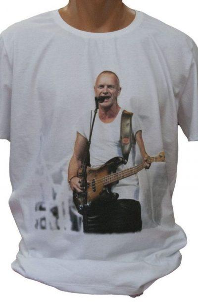 Тениска със Стинг