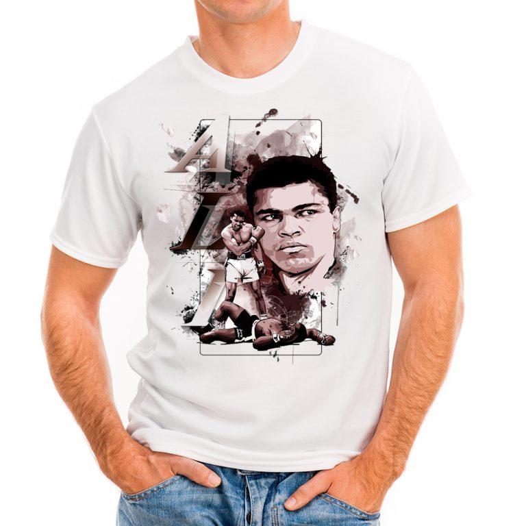 Мъжка тениска с Мхамед Али