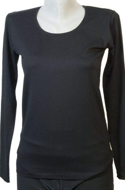 Дамска блуза черен цвят