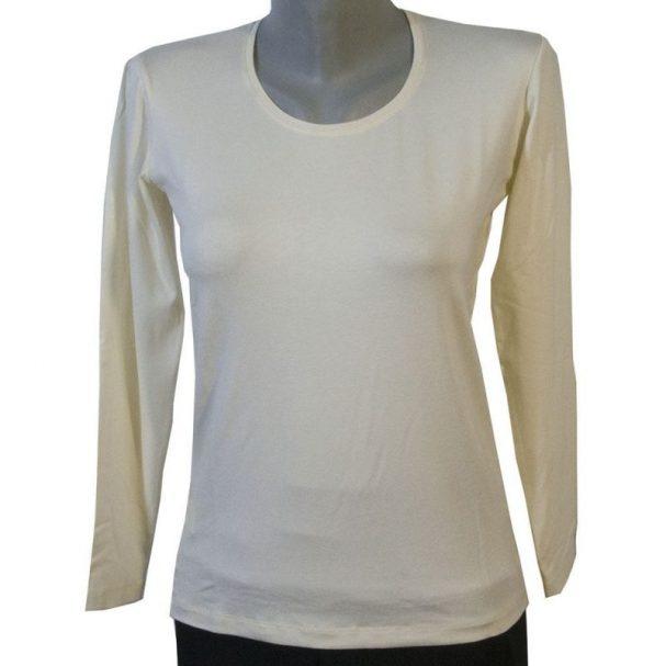 Дамска блуза цвят шампанко