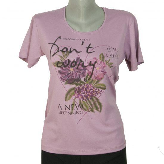 Дамска блуза, на цветя