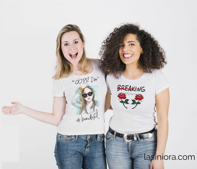Памучни тениски с уникални щампи