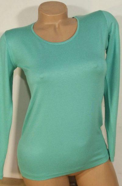 Дамска блуза ментов цвят