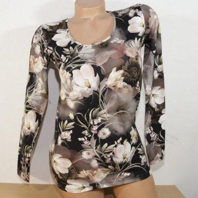 """Дамска блуза """"Вечерни лилии"""""""