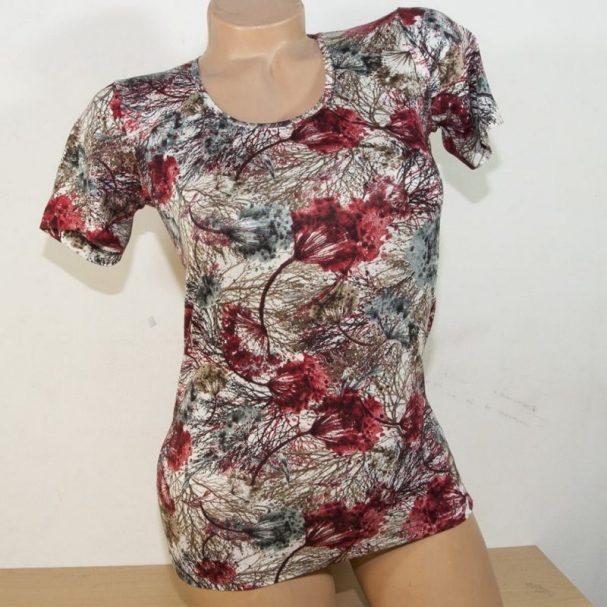 """Дамска блуза """"Ранна пролет"""" с къс ръкав"""