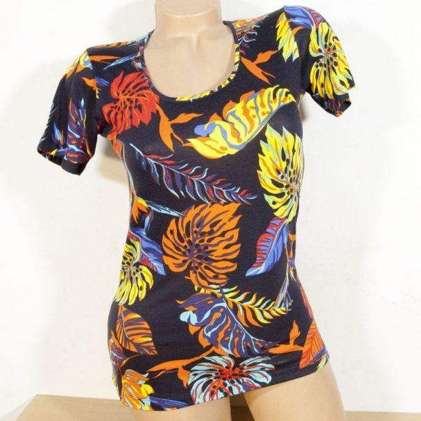"""Дамска блуза """"Огнени листа"""""""