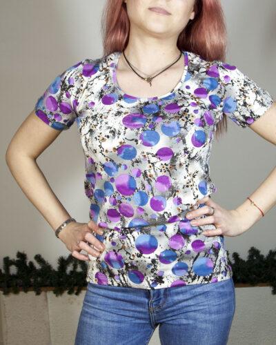 Блуза с къс ръкав Беатрис