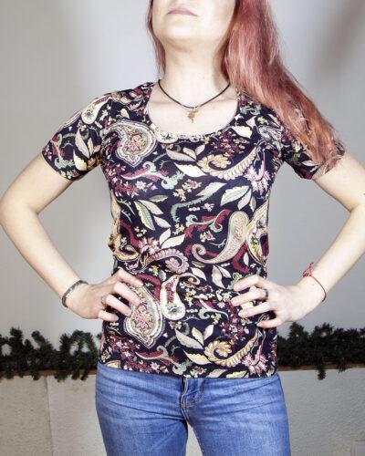 Блуза с къс ръкав Мелани