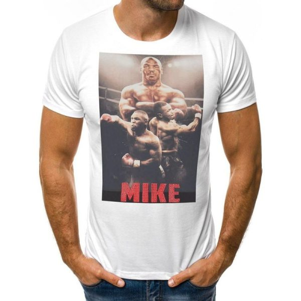 Тениска с дизайн на Майк Тайсън