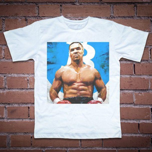 Тениска с рисунка на Майк Тайсън
