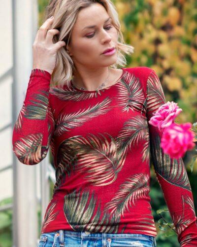 Дамска блуза Елинор с ангора
