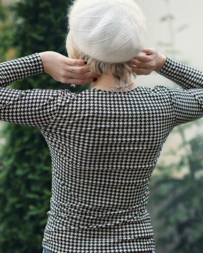 Дамска блуза Марго с ангора