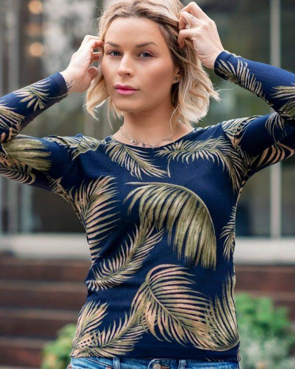 Дамска блуза Анабел с ангора
