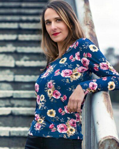 Дамска блуза с ангора Елизабет