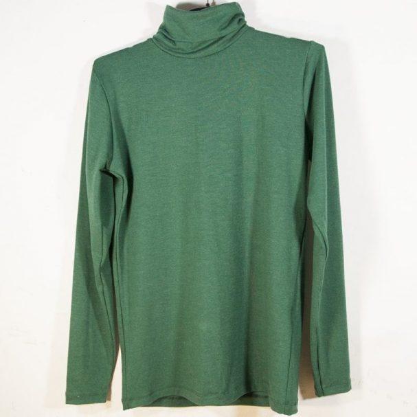 Дамско поло с ангора коледно зелено