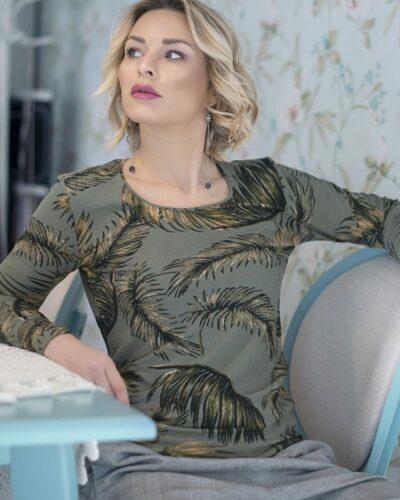Дамска блуза с ангора Каролин