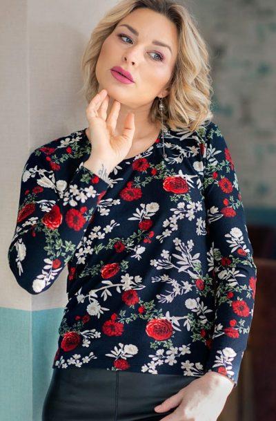 Дамска блуза с ангора Донатела