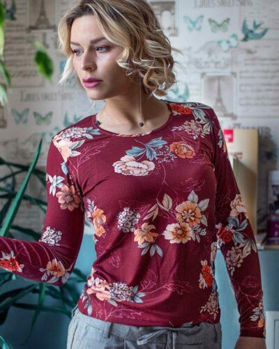 Блуза с дълъг ръкав Наталия