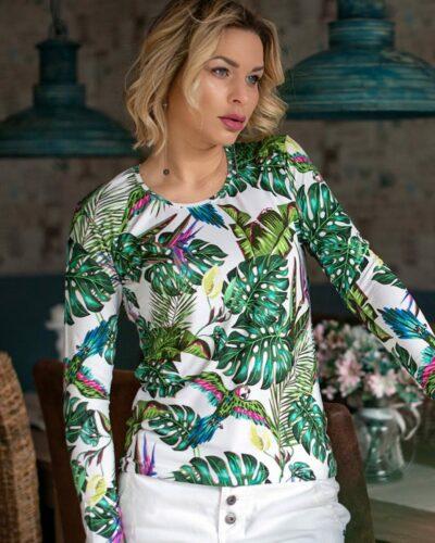 Блуза с дълъг ръкав Пенелопе
