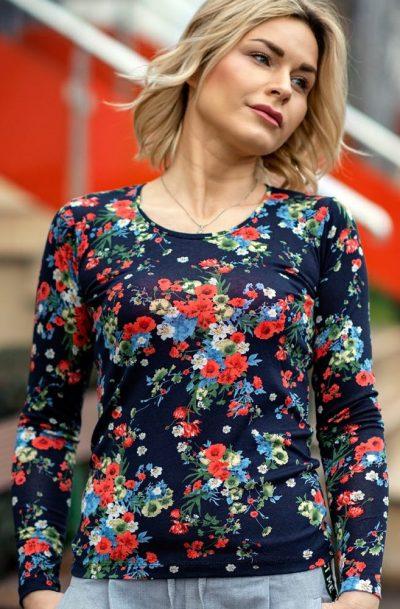 Блуза с дълъг ръкав Бианка