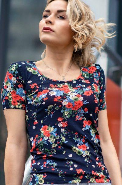 Блуза с къс ръкав Бианка