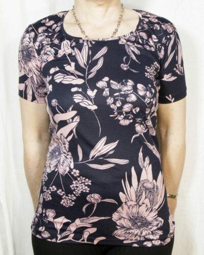 Блуза с къс ръкав Евелин
