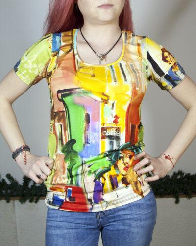 Блуза с къс ръкав Джована