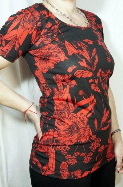 Блуза с къс ръкав Емануела