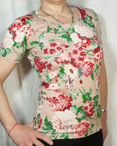 Блуза с къс ръкав Емелин