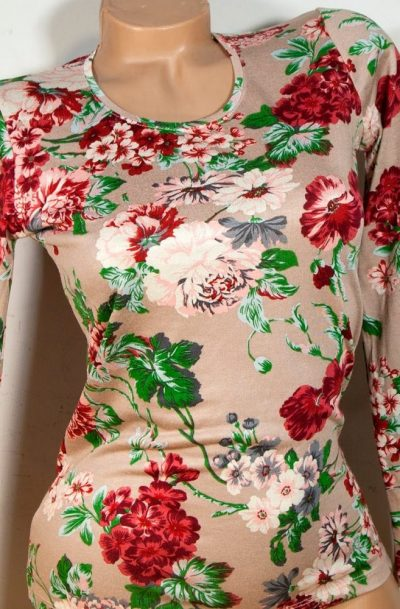 Блуза с дълъг ръкав Емелин