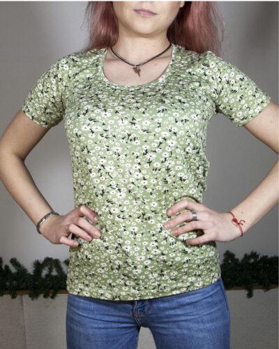 Блуза с къс ръкав Зорница