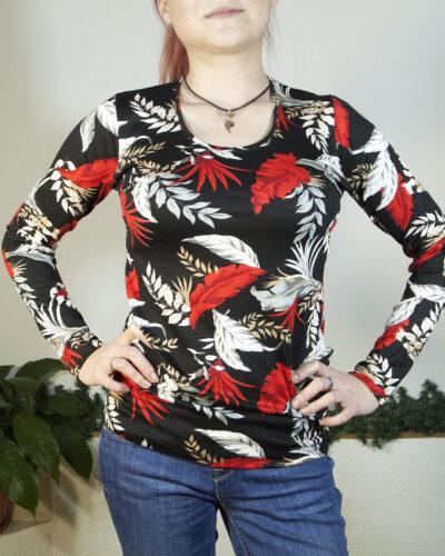 Блуза с дълъг ръкав Каледония