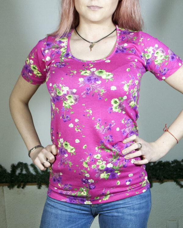 Блуза с къс ръкав Сесил