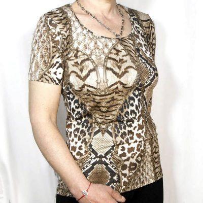 Блуза с къс ръкав Билу