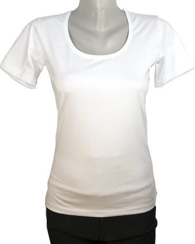 Дамски тениски с еластан на едро за 5 бр /по 8.40лв/