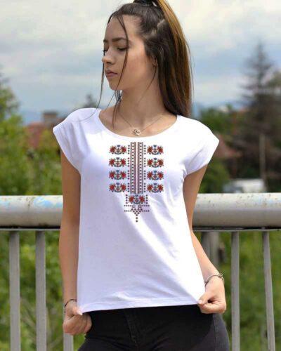 Тениска Асо с шевица