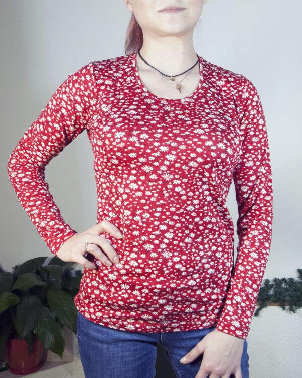 Блуза с дълъг ръкав Каролин
