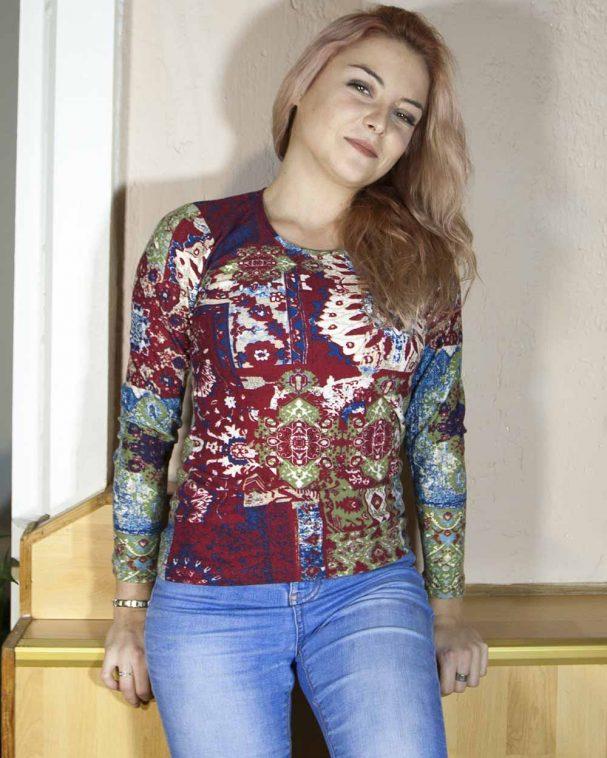 Блуза Фредерика с ангора