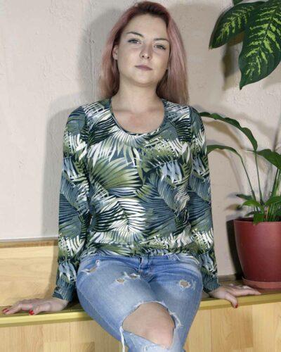 Блуза Лаура с ангора