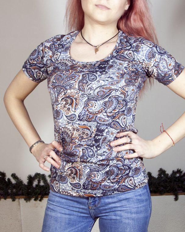 Блуза с къс ръкав Доринела