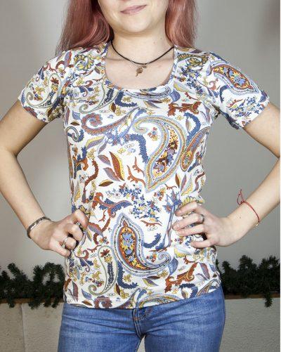 Блуза с къс ръкав Жулиета