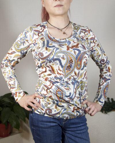 Блуза с дълъг ръкав Жулиета